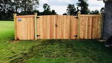Custom Privacy Fence in Hale Estates Humboldt Tennessee