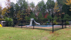 Montage Steel Fence in Henderson, Tennessee