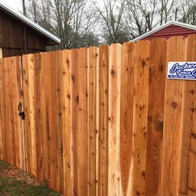 Standard Privacy Fencein Medon, Tennessee