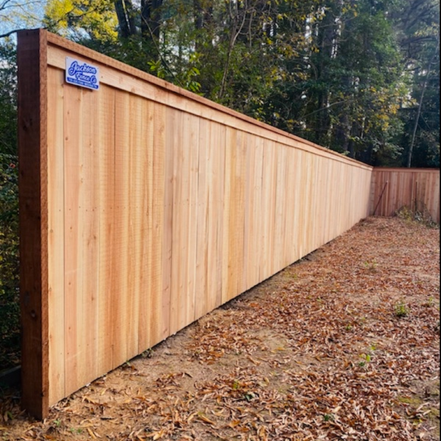 Cedar Cap And Trim Privacy Fence Jackson, Tn