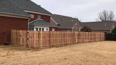 Cedar Shadowbox Fence in Jackson, Tennessee