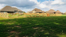 Cross Buck Fence with Wire in Medina Tennessee