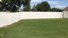 White Vinyl Fence in Dyersburg, Tennessee