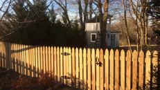 Cedar Picket Fence in McKenzie, Tennessee