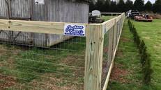 2 Rail Fence on Key Senter Rd Jackson Tennessee