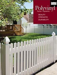 polyvinyl vinyl fence brochure