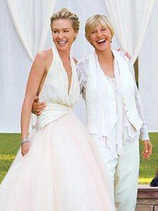 Ellen Degeneres & Portia deRossi'swedding