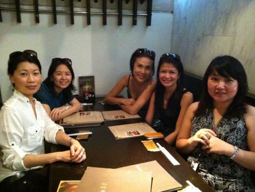 Kiraku with the office ladies