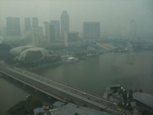 The HAZE is scary..