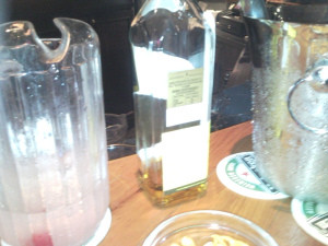 The night me and AK went to Dolly to finish our balance..