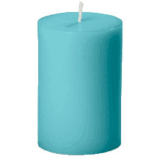 Turquoise candle.png