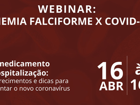 Webinar: Anemia Falciforme x Covid19