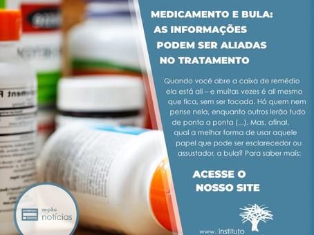 Medicamento, modo de usar: bula e informação podem ser aliadas no tratamento