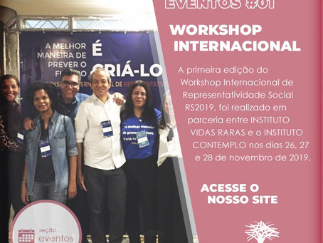 WORKSHOP INTERNACIONAL DE REPRESENTATIVIDADE SOCIAL, RS2019