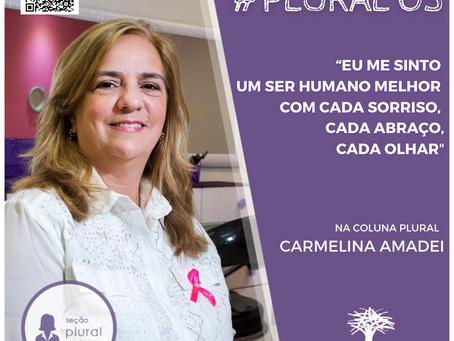 """#PLURAL 03 - """"A comissão de humanização me encontrou e eu me encontrei"""" Carmelina Amadei"""