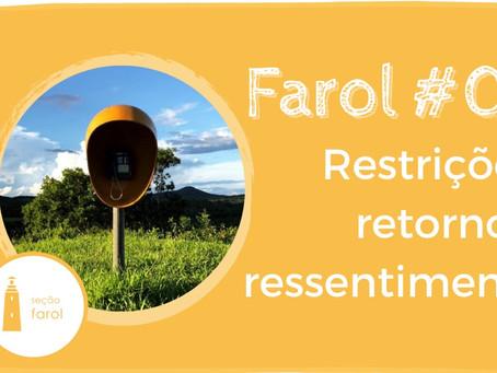 Restrições, retorno e ressentimento