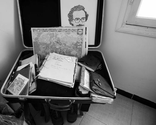 valise de carnets, Oran 2020.jpg