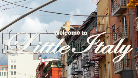 A Love Affair - Italian Food, Chicken Parm, and New York