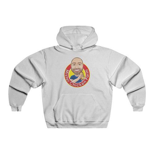 Mister Chicken Parm Men's NUBLEND® Hooded Sweatshirt (Original Logo Colors)