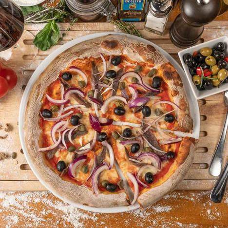 Italienisches Restaurant & Hotel 12 Apostoli am Savignyplatz - Pizza