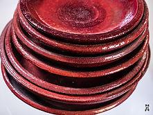 Raudonos Lėkštės