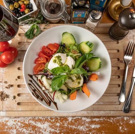 Italienisches Restaurant & Hotel 12 Apostoli am Savignyplatz - Insalata - Salat