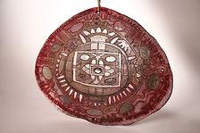 Dekoratyvinė plokštė - padėklas ''Mandala''