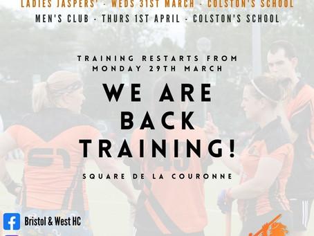 Training Restart & Summer Hockey (April 2021)