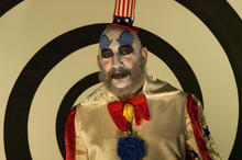 The Clown, Syd Haig, from the Devil's Rejects, LA  2005