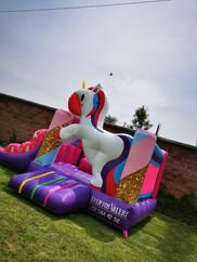 renta venta de inflable unicornio