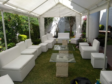 carpas,salas lounge