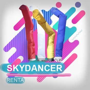 renta de sky dancers