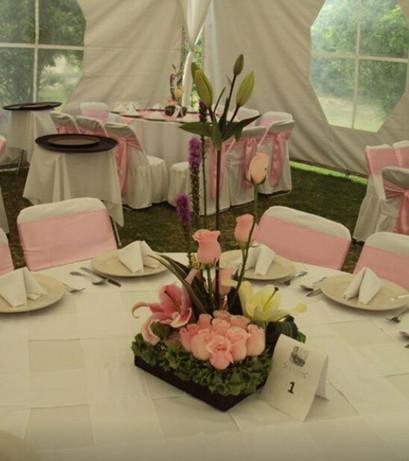 centros de mesa , arreglos florales
