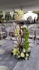 arreglos florales, centros de mesa