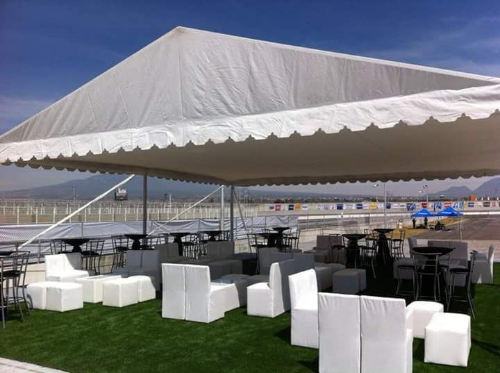 Carpas y salas Lounge