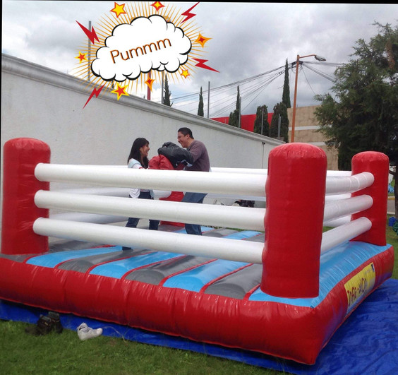 Renta de rin de box inflable
