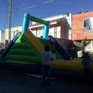 escaladora gigante 12x4mts. inflable, brincolin