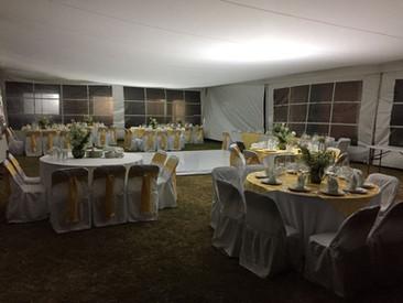 Loza, sillas mesas  para eventos