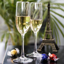 renta de copas champagne