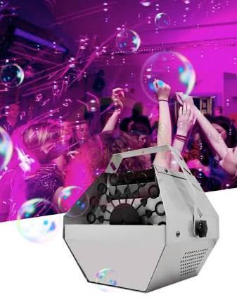 renta y venta de maquina de burbujas