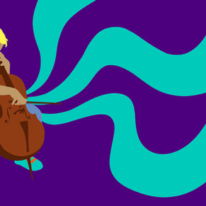Editorial-Illustration-Cello-Musiker-Kind