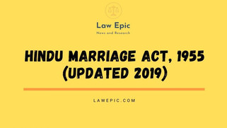 HINDU MARRIAGE ACT, 1955 BARE ACT (UPDATED 2019)