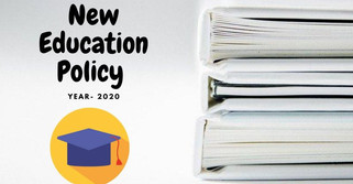 New education policy 2020 - PDF