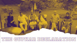 The Gupkar Declaration