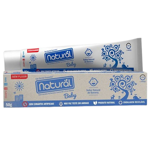 Gel dental baby (50g) - ORGÂNICO NATURAL
