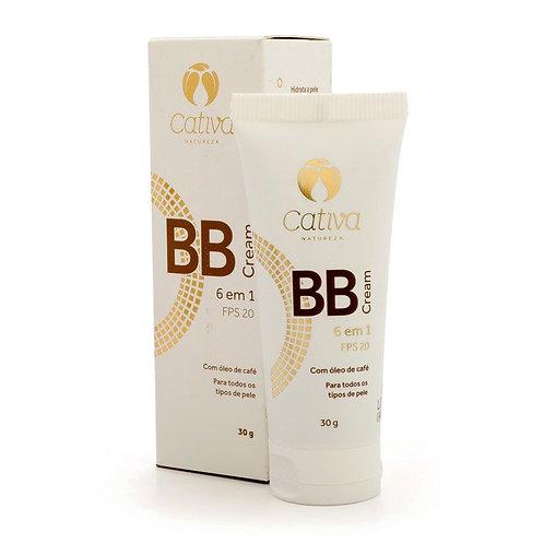 BB Cream orgânico FPS 20 (cor 2) 30 ml - CATIVA NATUREZA