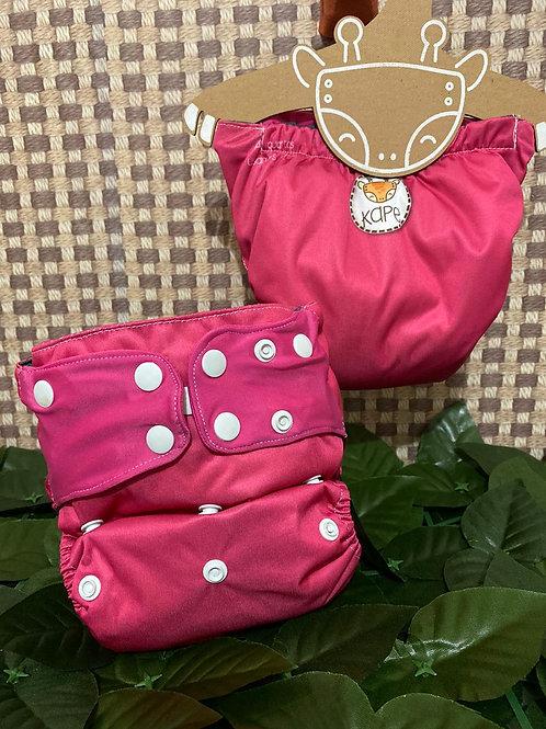 Fralda ecológica pink - Kape