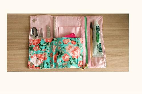 Kit Lixo Zero Primavera com escova e pasta de dente - EMPÓRIO BIO