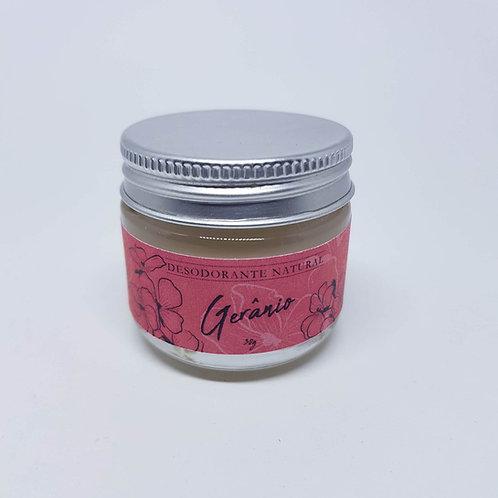 Desodorante cremoso de gerânio - FLOR DE NIM