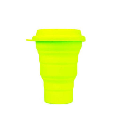 Copo Reutilizável de Silicone Verde 480 ml – SILICUP